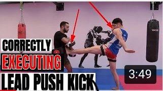 Mastering the lead push Kick with Canadian champion  Go check it out: https://youtu.be/MASiex7SoUI  Tell us what you want to see next🙂👍  #mma #ufc #boxing #fitness  #muaythai #gym  #training #motivation #fighter #workout #fighting   #champion  #mixedmartialarts #like  #follow #bhfyp