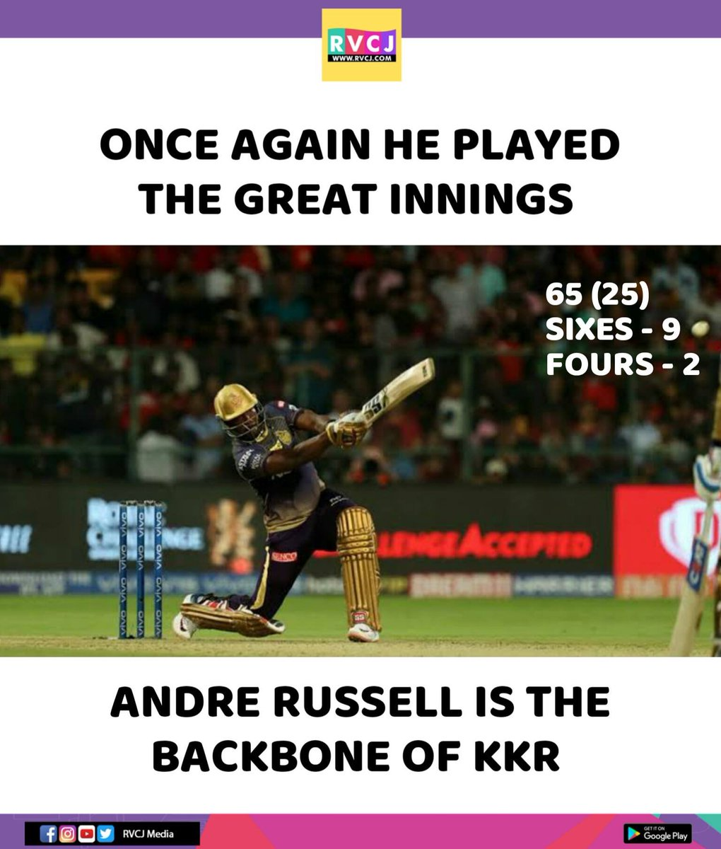 RVCJ Media's photo on Andre Russell