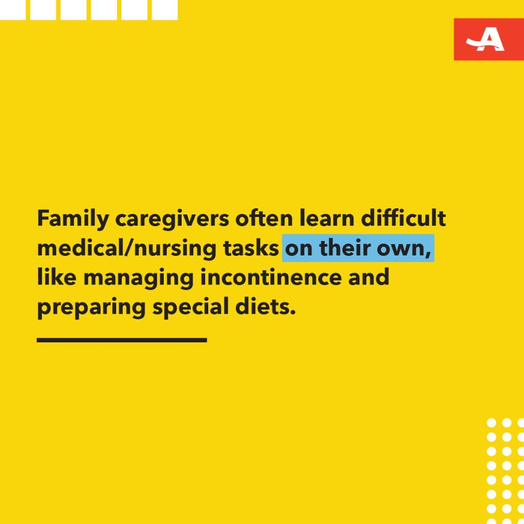According to a new report, many family caregivers are responsible for learning and managing complex tasks for their loved one. Learn more about the new report from the Founders of the Home Alone Alliance: http://spr.ly/6011Ee1wZ