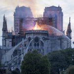 Image for the Tweet beginning: Nissan offers $112,000 to Notre-Dame