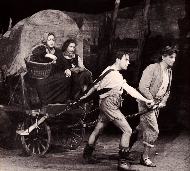 "#OnThisDay in 1941 Berthold Brecht's play ""Mother Courage and Her Children"" was for the first time performed @ Schauspielhaus #Zürich. It is considered as one of the greatest plays of the 20th century, and perhaps the greatest anti-war play of all time. https://en.m.wikipedia.org/wiki/Mother_Courage_and_Her_Children …"
