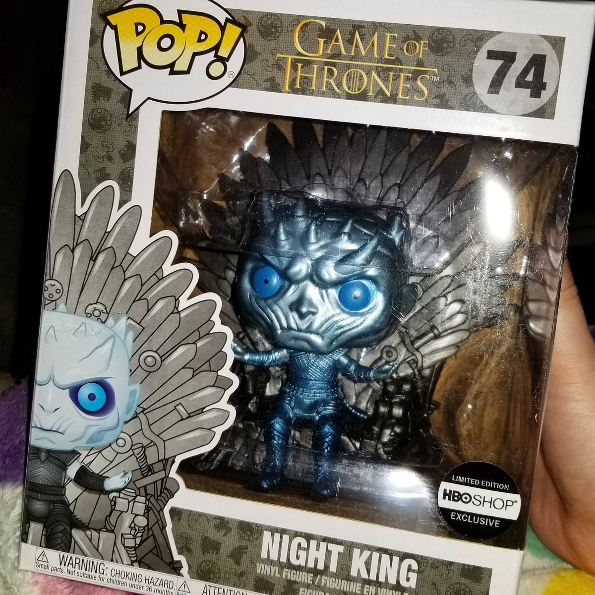 Now that's a sweet mail call.   #funkopops #funkoholic #funkopop #funkoaddict #GOT #gameofthrones #nightking #gameofthronespop #nightkingpop https://t.co/b4FwbOeZ6h