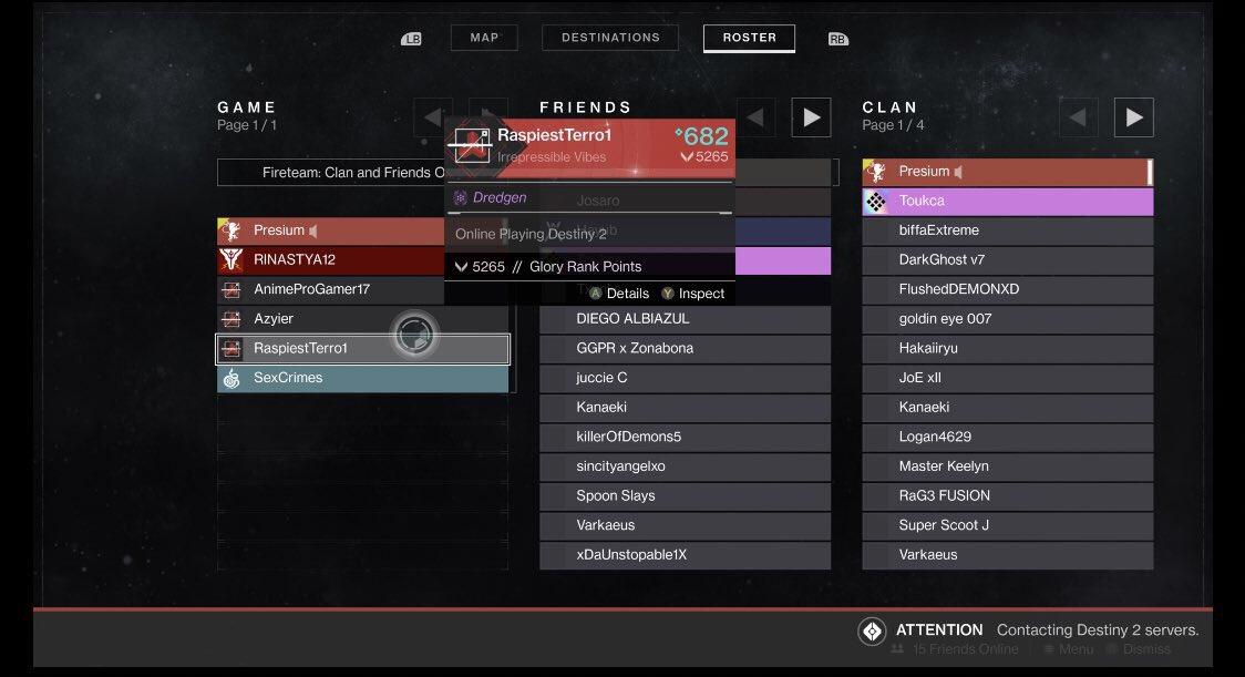 Destiny 2 Comp Ranks
