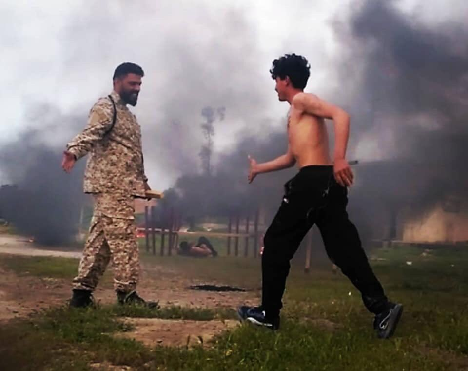 "#Jazira_Region: Some smoking hot topless pics from recent #Sanadid ""Cubs of Jazira"" training course"