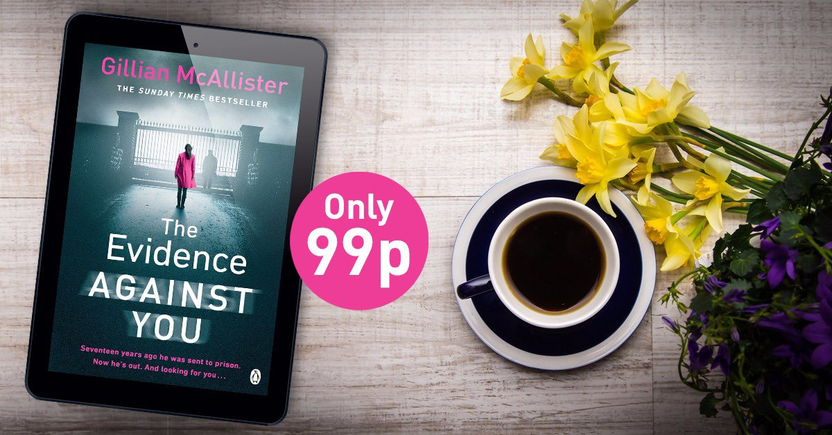 Excuse me, The Evidence Against You is just 99p on kindle for a short time only! Get it while it's hot off the press and less than a bunch of daffodils! http://bit.ly/TEAYEB99