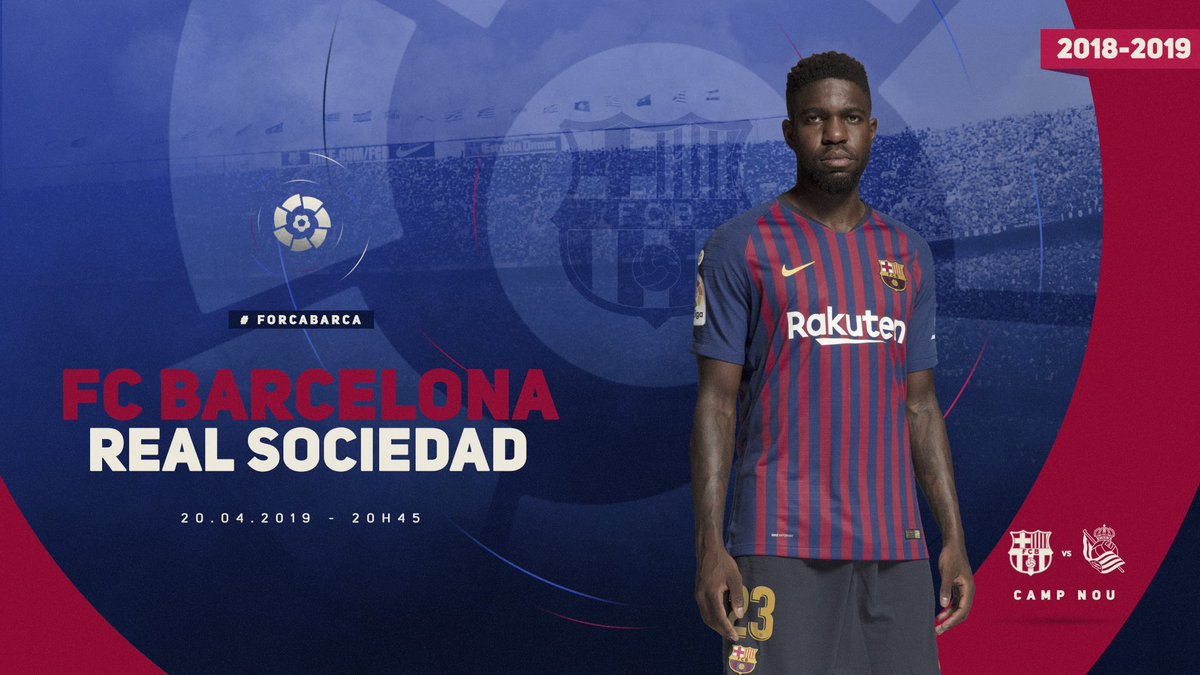 Samuel Umtiti's photo on Real Sociedad