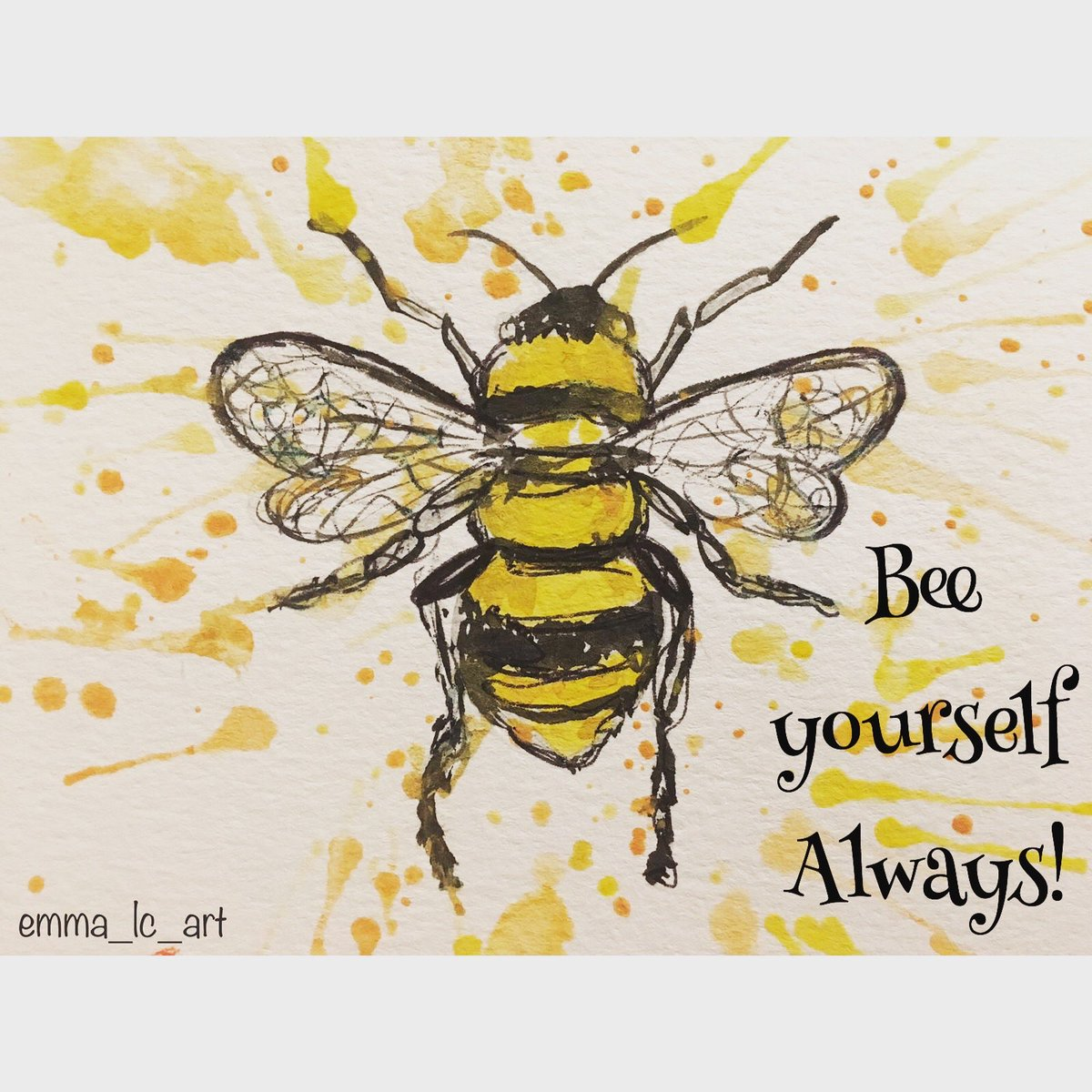 And the winning #positivequoteoftheday💛 as voted for by women attending our groups is the Bee! #beyourself