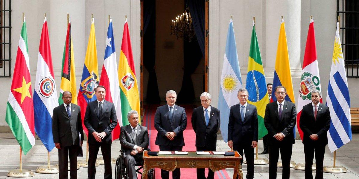 Resultado de imagen para prosur chile 2019