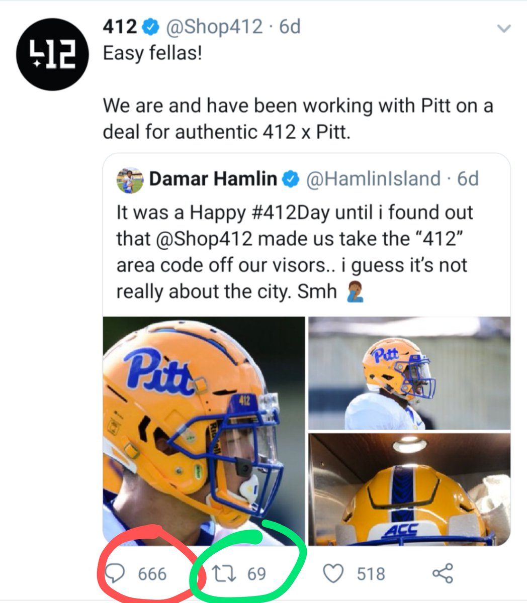 We're a week out from #412Day and @Shop412 hasn't tweeted since. The RTs were so nice they died and are in hell