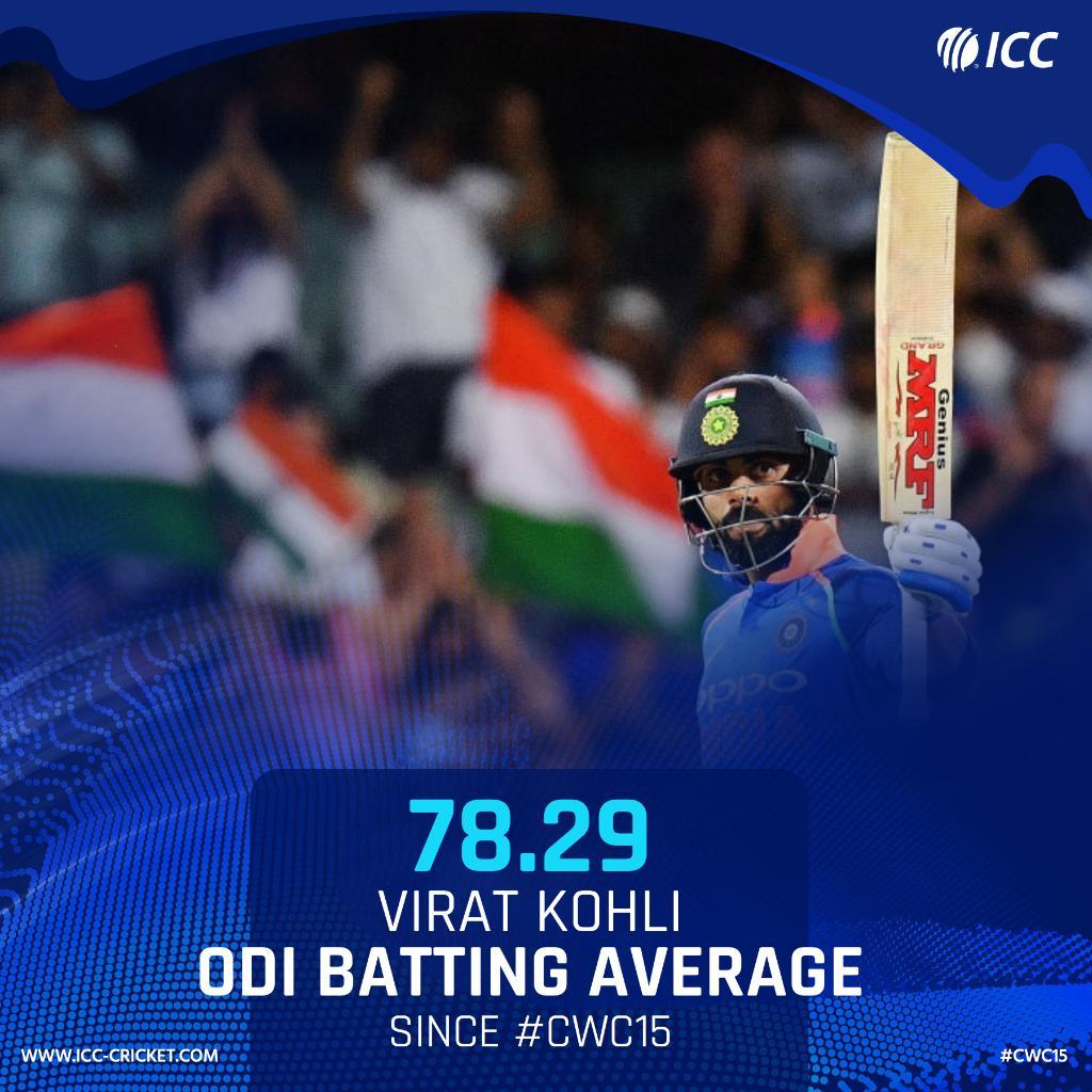 RT @ICC: Do you think Virat Kohli will be #CWC19's leading run-scorer? https://t.co/HKepRrpYvk