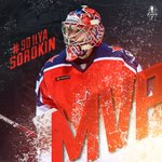 Image for the Tweet beginning: Ilya Sorokin named MVP of