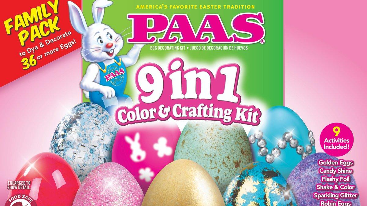 PAAS Flashy Foil Easter Egg Dye Kit