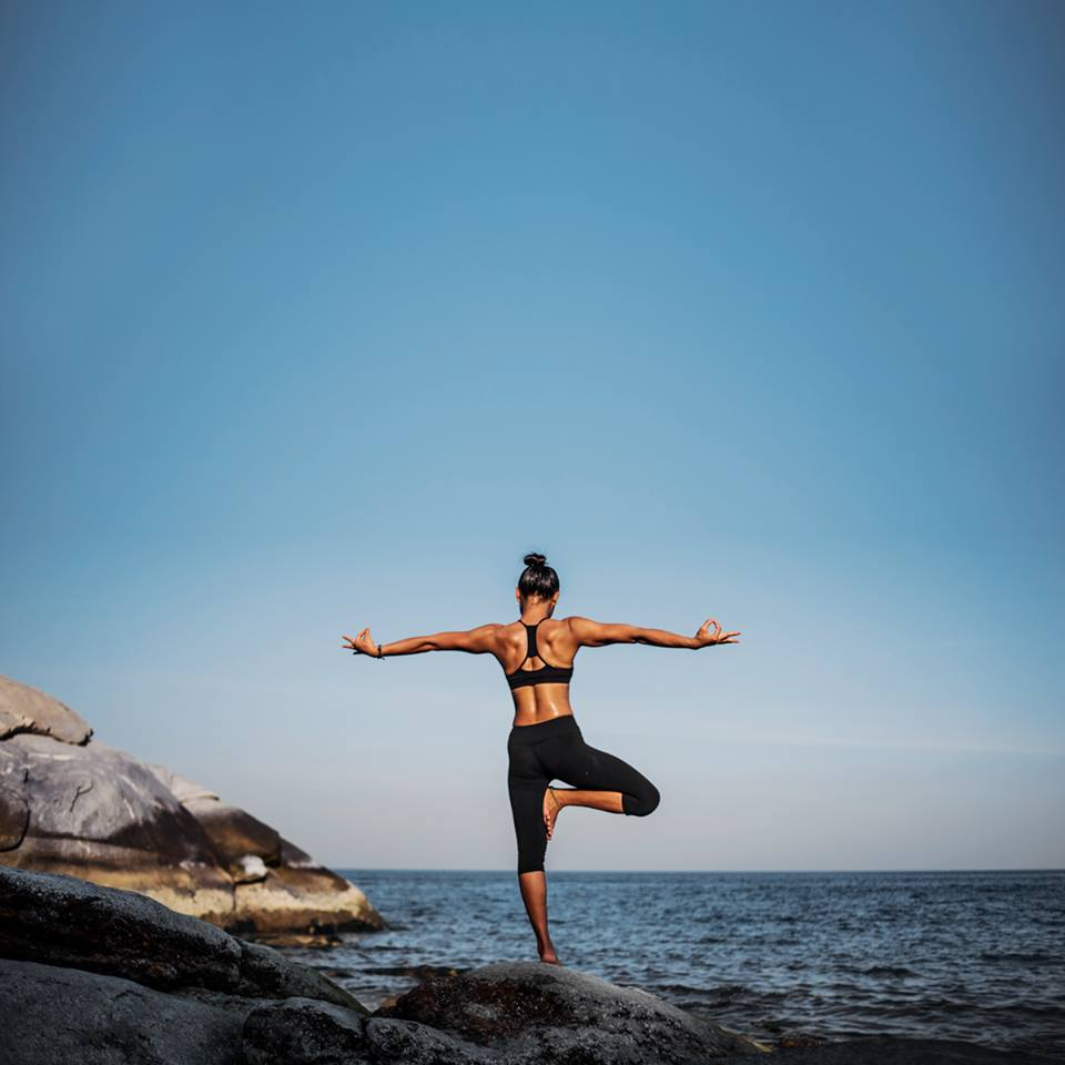 Spring has sprung! Deepen your connection to the earth 🌎 by practicing outside. #EarthDay #yoga