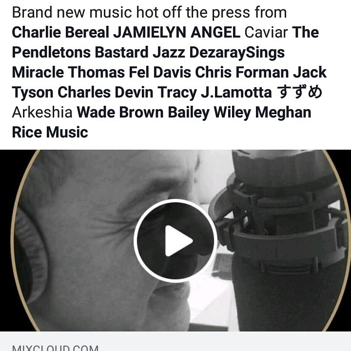 Just got a notification that I'm being played in Great Britain!!! #yearoftheopendoor #ThankyouGod #loveforyou #meghanricemusic #radioplay #worship #lovesongs #rnb #jazz #wedding #newartistalert   Single Link: http://smarturl.it/luv4you  Radio Show Link:  https://m.mixcloud.com/globalsoulradio/new-music-hour-with-franklin-sinclair-19th-april-2019/…
