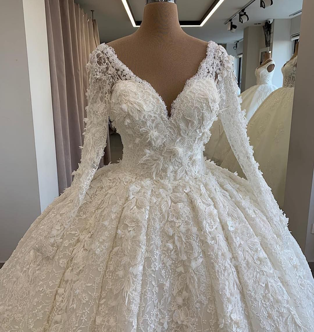 Made to order #wedding #gowns like this can be created as pictured or with any changes.  You can also modify any of our own #bridal #designs.  We have specialized in affordable #custom #weddingdresses since 1996.    https://buff.ly/2sdy8fP  . . .