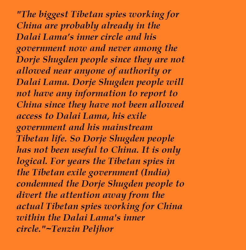 Shocking? Nah... It just makes perfect sense!  #FreeTibet #rangzen #Tibet #Tibetans #DalaiLama #Dharamsala #humanrights #Lhasa #Himachal #Ladakh #China #Beijing #LarungGar #PanchenLama #news #India #PoliticsToday