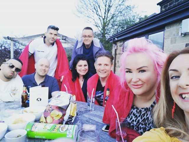 The lovely crew! #friends http://bit.ly/2XrFzhA