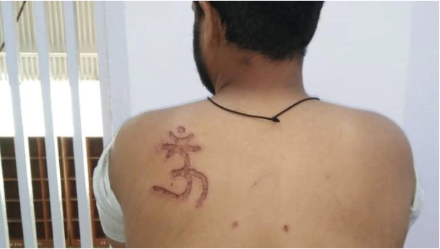 Muslim man branded with Om symbol, denied food by Tihar jail officials Muslim undertrial claimed that he was beaten and branded with an Om symbol by Tihar jail officials inside the jail premises. https://www.indiatoday.in/india/story/muslim-man-tihar-jail-branded-om-beaten-hindu-new-delhi-1505892-2019-04-19?fbclid=IwAR1fYKf066LvMmAU0Yjy2fuH7_uf0lSvO9PF-Q5sfU0cKFGri1jbddw41q8 … Lanat Ha #India Tmhare Moun Per  😡
