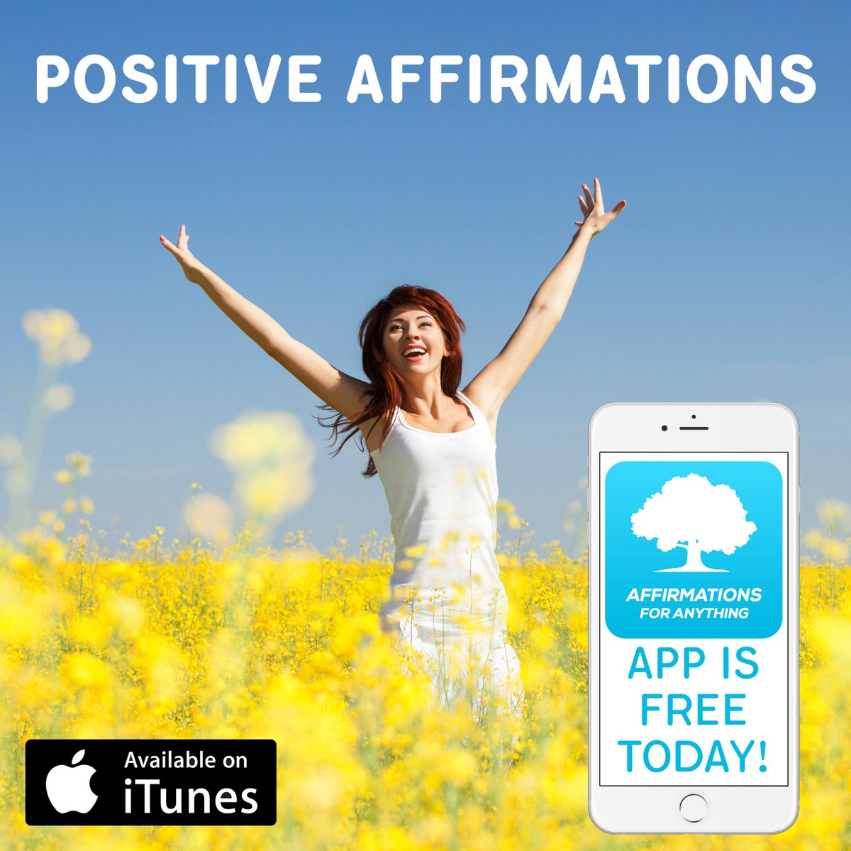 Enjoy the Proven Power of #Positive #Daily #Affirmations! #App is #FREE #Today! https://itunes.apple.com/app/id1309109294…