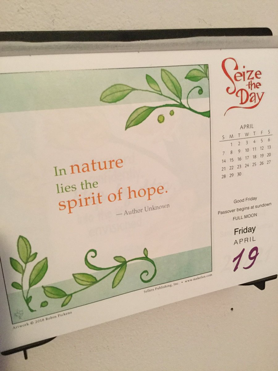 You'll find hope in everything nature. Happy Friday everyone! 😊 #SeizeTheDay #Today2019 #Nature #Hope #FridayMotivation #QOTD #QuoteOfTheDay