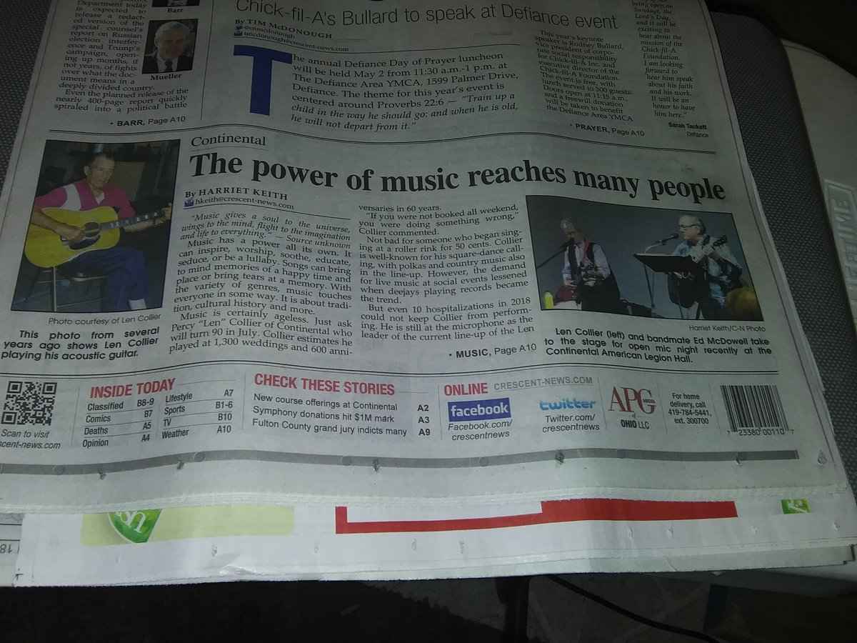 Here's a nice story about the power of #MUSIC