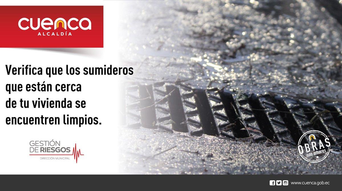 #DGRTips 👇🏻 En cualquier época del año no olvides mantener tus sumideros limpios, así podrás evitar una inundación en la época invernal.  #TrabajamosEnPrevención👍🏻