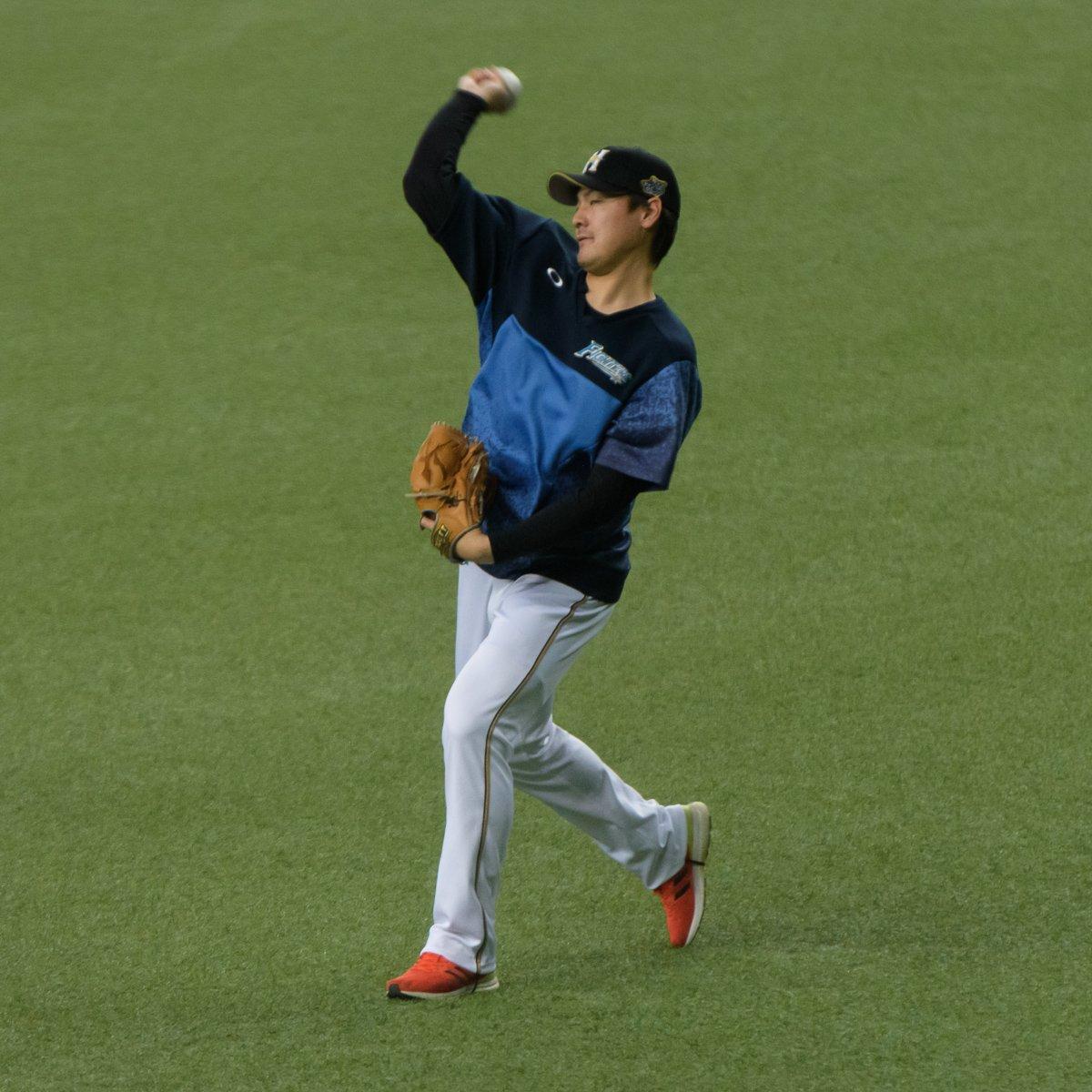 2019/4/17 北海道日本ハムファイターズ 有原航平投手 #北海道日本ハムファイターズ #有原航平 #オリックスバファローズ #京セラドーム大阪 #野球 #baseball