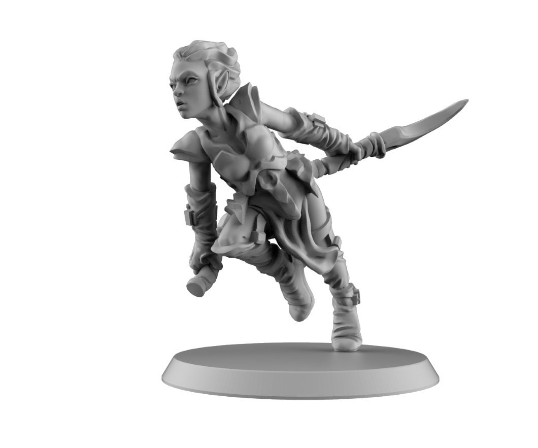 What name fills your heart with terror? Comment a name & help this #dark #elf #assassin come to resin at #Kickstarter on April 30th! Want more?Visit https://bit.ly/2FOZiSu or join our group http://bit.ly/2UD43HH to learn everything about the Curse of Hollow Hills!  #rpg #dnd