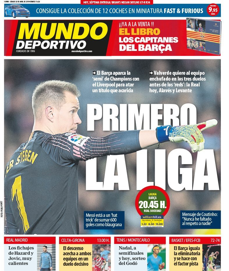 'The league first' [md]