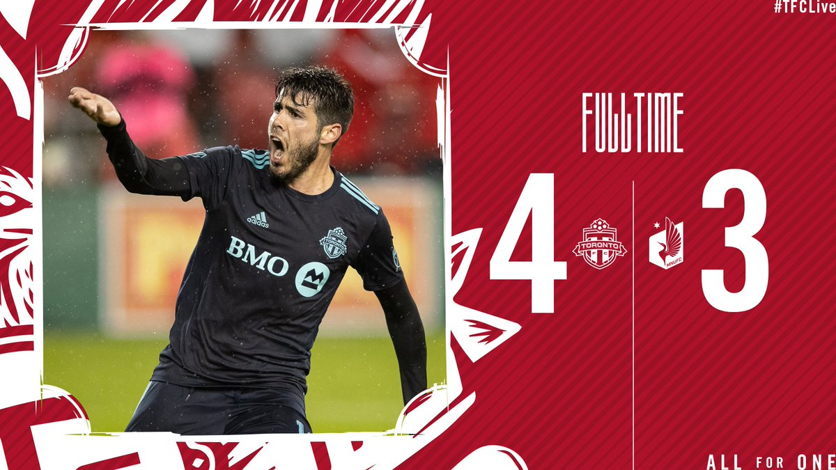 Exactly how we drew it up 😬  #TFCLive   #TORvMIN