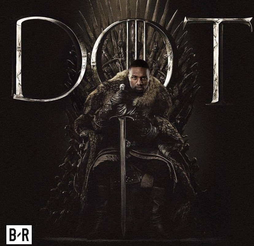 When you play a Dame of thrones you win or you die #RipCity #NBATwitter