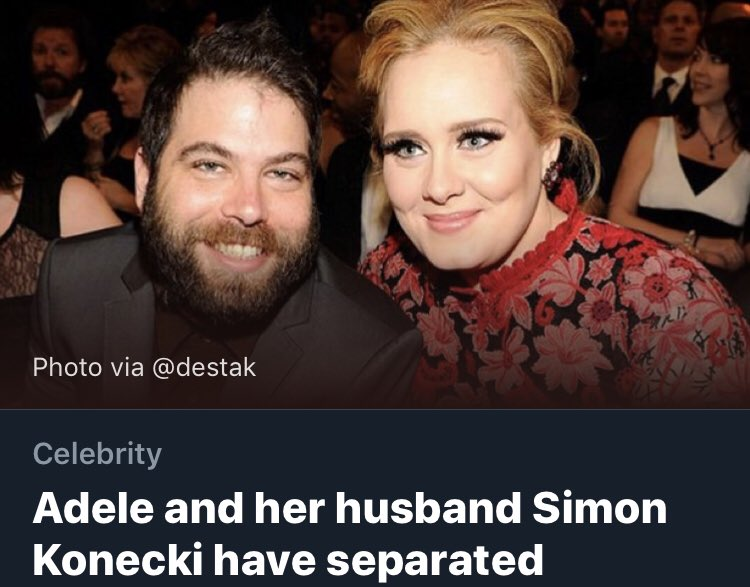 adele and husband simon konecki have separated report - 750×587