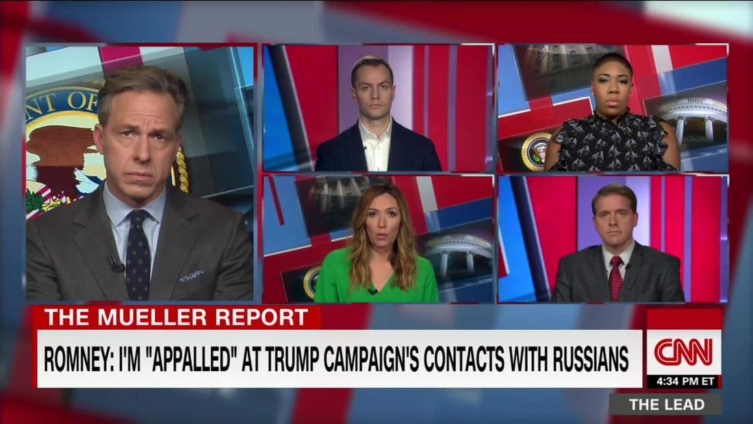 Romney: 'Sickened' by Trump lies, 'appalled' by Trump team dealings with Russia @ScottJenningsKY @amandacarpenter @RobbyMook @SymoneDSanders discuss @TheLeadCNN https://cnn.it/2IuzUny