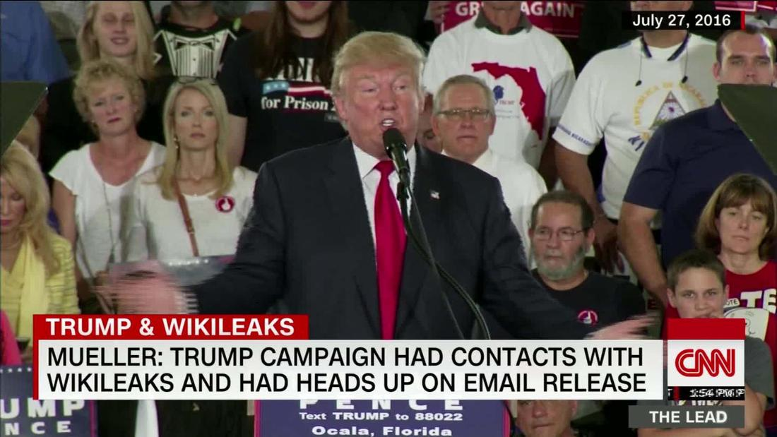 Mueller report reveals more Trump/Wikileaks dealings than previously known @MarquardtA reports @TheLeadCNN https://cnn.it/2PokZfm