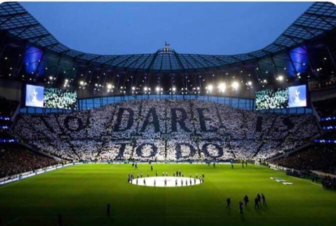 A reminder that the new Tottenham Hotspurs Stadium will have seen as many Champions League semi finals in 1 month of its opening as the Emirates has in 13 years.