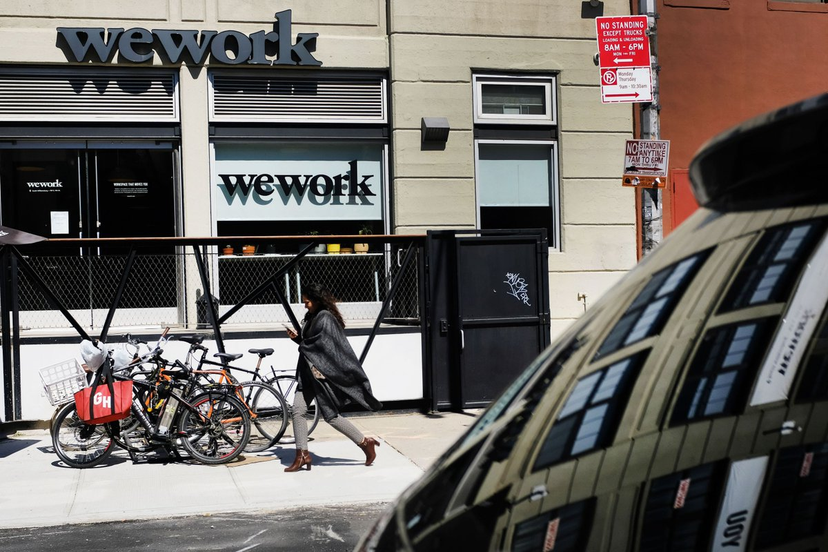 WeWork is replacing its chief operating officer to focus more on overseas growth
