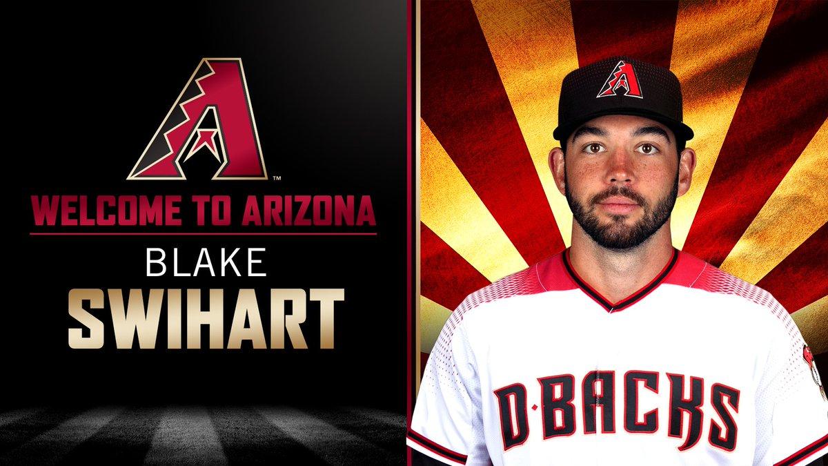 D-Backs Acquire Blake Swihart