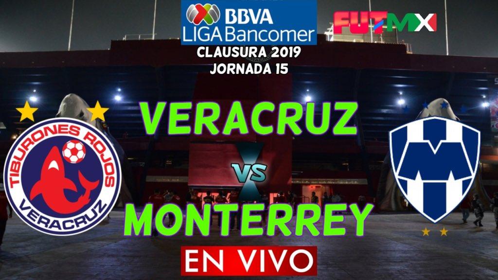 Rayados vence 1-0 al Veracruz J15 2019