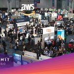 Image for the Tweet beginning: 📢 #AWSSummit is back in