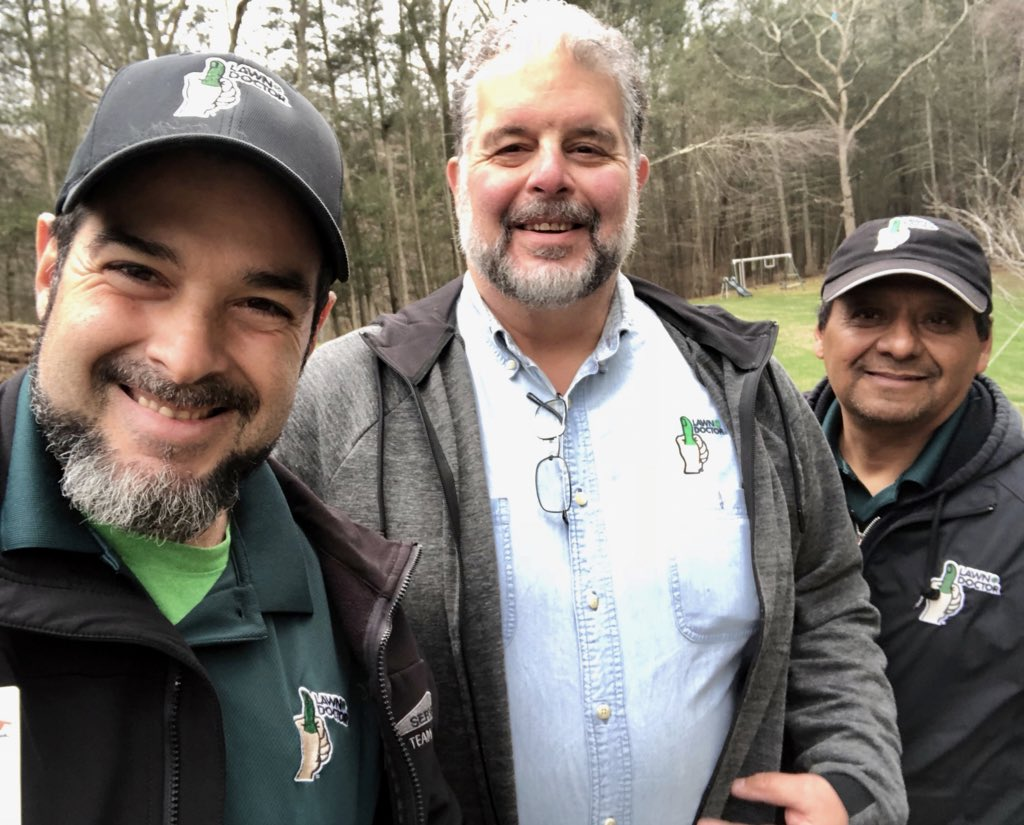 We love training days with our Favorite Corporate Consultant! #franchisesupport #lawncare #lawndoctor #ct #spring #springtraining #franchiseopportunities