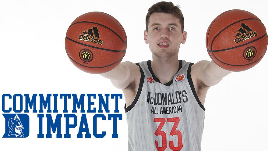 Commitment Impact: Matthew Hurt Now that #Duke has landed 5-star @HurtMatthew, what's his impact for the #BlueDevils & where do his other finalists turn for help? @ebosshoops breaks it down: https://rvls.co/Hurt0419   #KUbball #UNC #BBN