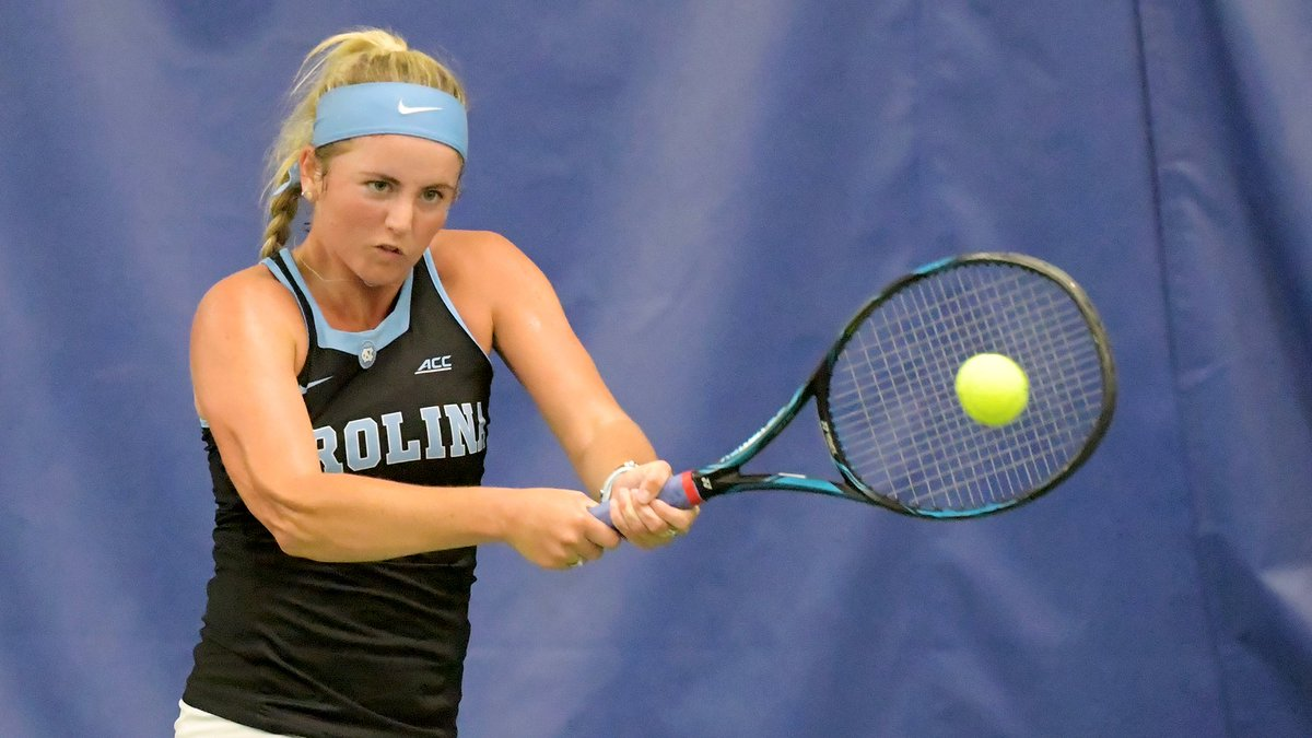 .@Kennaa14 won the clinching point in a 4-0 win over Syracuse in #ACCWTen Quarters  Read: https://bit.ly/2UHOtum   #GoHeels