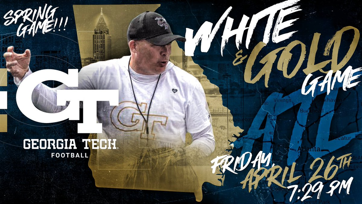 -LANTAAAA!!!   WEEEEKKKKKK   WHITE &amp; GOLD GAMEEEE!!!                    Friday, April 26th  7:29 PM  #biGTime  in the !!!<br>http://pic.twitter.com/H4HkZdNBmB