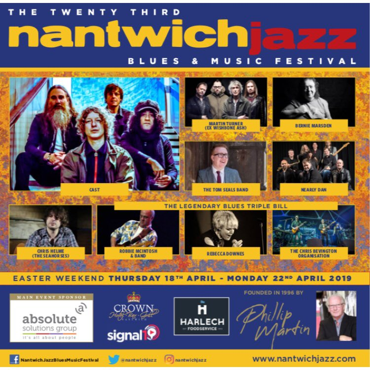 🎶 Three days to go till my appearance at Nantwich Jazz & Blues Festival: 4-6pm at the Malbank, Nantwich 🎶 @nantwichjazz @RebeccaDownesUK @ChrisHelme @Bernie_Marsden #blues #bluesguitar #music #bluesmusic #live #livemusic #malbank #nantwich #cheshire #nantwichjazzfest #acoustic