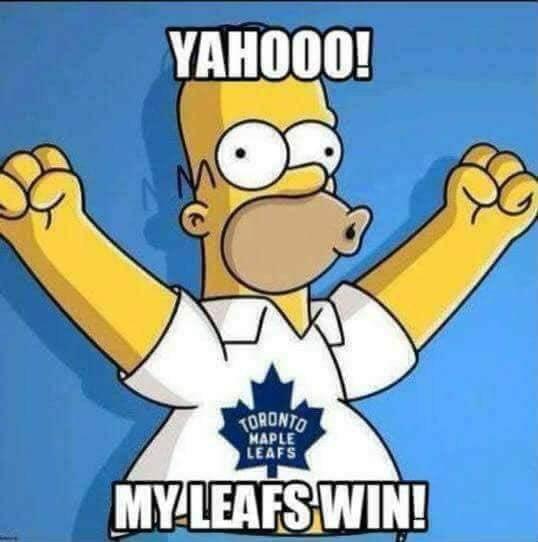 Got Em!  🥅🏒🏆🥇🏅🎖🎊🎉🍺🍻 #TorontoMapleLeafs #NHL #Toronto #LeafsNation #NHLPlayoffs #MapleLeafs #Champions #Playoffs
