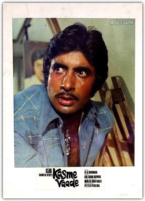 'Kasme Vaade' Directed by Ramesh Behl,closing 41 Years of it release. A Classic diamond cinema-Big B's outstanding double role performance  @SrBachchan @juniorbachchan  @GOLDIEBEHL @earth2angel  #41YearsOfKasmeVaade @shrishtiarya @iamsonalibendre