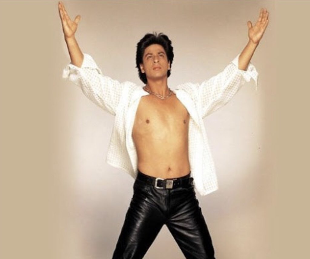 "visa is chilling tf out on Twitter: ""Shah Rukh Khan shirtless in 90s/00s vs Shah  Rukh Khan shirtless in 2010s… """