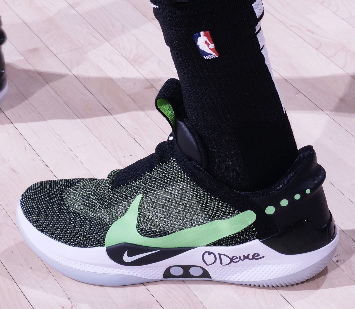 f8dfabe71f3 kicksoncourt rate jaytatum0s latest nike adapt bb from 1 to 10 ron hoskins  nbae via getty