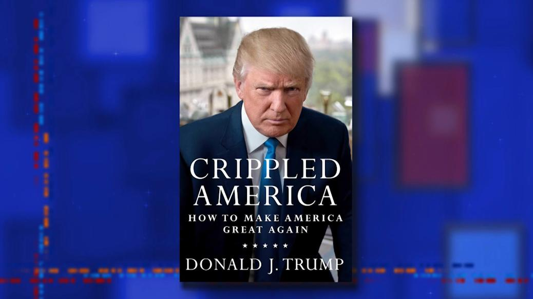 President Trump is ready to make the sequel to his 2015 book. #LSSC <br>http://pic.twitter.com/Z6XSXBHB7W