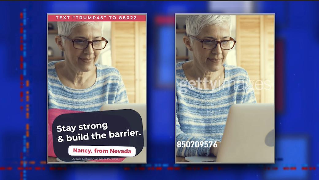 'Nancy from Nevada' aka stock image from Getty's website = FAKE NEWS. #LSSC <br>http://pic.twitter.com/A4q9Yhaba6